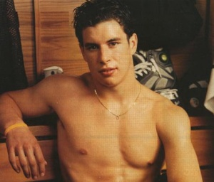 Sidney Crosby shirtless