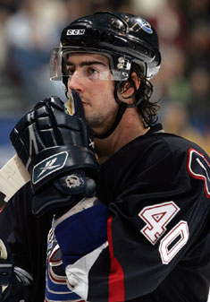 Vancouver Canuck Luc Bourdon